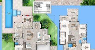 Plan 86033BW: Geräumig gehobener Zeitgenosse mit mehreren Balkonen im zweiten S...