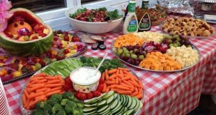 Pretty Shower BBQ food | Easy Outdoor Party Food Ideas for a Crowd | Quick BBQ F...