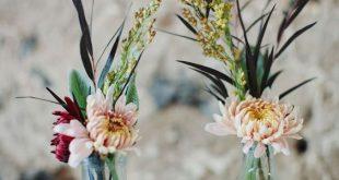 Rustikale Hochzeitsdekorationen, Hochzeitsdekorationen im Freien, Boho-Hochzei ...  #freien #...