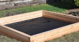 Sandkasten bauen: Hier findet man zwei Bauanleitungen, mit denen man einen quadr...