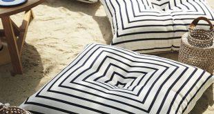 Serena & Lily Harbour Island Floor Pillow
