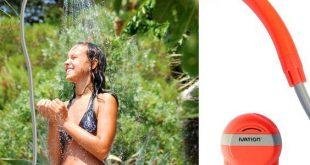 Tragbare Pop Up Zelt Camping Strand WC Dusche Umkleidekabine im Freien