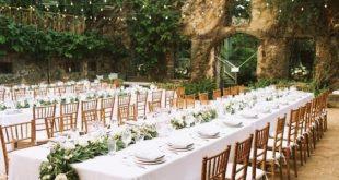 Über 30 Hochzeitsdekorationsideen im Freien begeistern Ihre Gäste