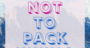What NOT to Pack Hiking: 10 Things to Leave Behind
