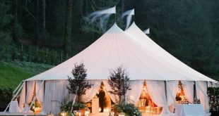 What You Need to Know When Planning a Tented Wedding